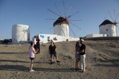 Puur Naturisme: Mykonos, molens