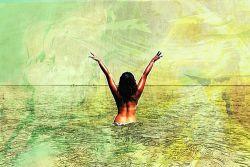 Naakt zwemmen @pixabay